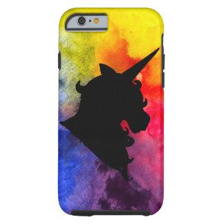 Caso duro del unicornio del arco iris funda para iPhone 6 tough