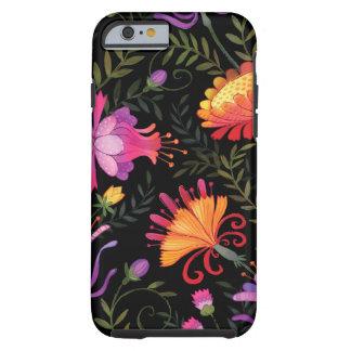 Caso duro floral del iPhone 6 Funda Resistente iPhone 6