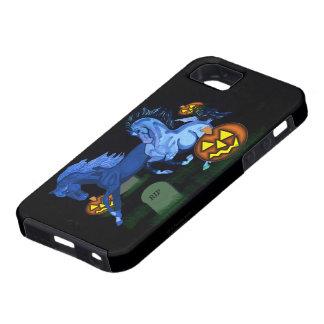 Caso duro frecuentado de IPhone de los caballos Funda Para iPhone SE/5/5s