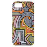 Caso duro fresco de Iphone de la pintada iPhone 5 Case-Mate Protector