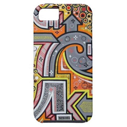 Caso duro fresco de Iphone de la pintada iPhone 5 Funda