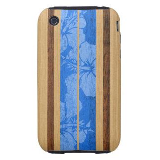Caso duro hawaiano del iPhone 3 de la tabla Tough iPhone 3 Cárcasas