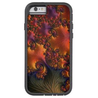 Caso duro magnífico del arte iPhone6 del fractal Funda Para iPhone 6 Tough Xtreme