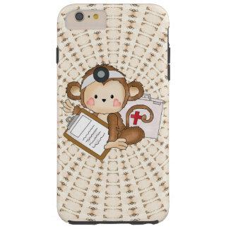 Caso duro más del iPhone 6 del doctor Monkey Funda Resistente iPhone 6 Plus