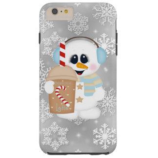 Caso duro más del iPhone 6 del muñeco de nieve de Funda Resistente iPhone 6 Plus