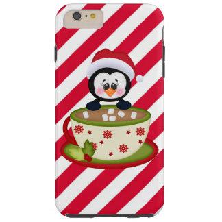 Caso duro más del iPhone 6 del pingüino del Funda De iPhone 6 Plus Tough