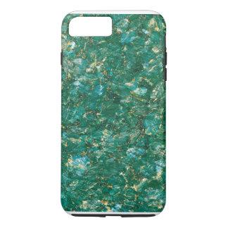 Caso duro más del iPhone 6 verdes del mármol del Funda iPhone 7 Plus