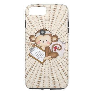 Caso duro más del iPhone 7 del doctor Monkey Funda iPhone 7 Plus