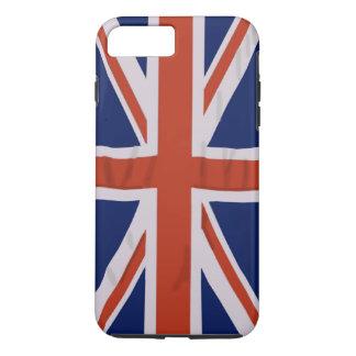 Caso duro más del iPhone 7 ingleses de la bandera Funda iPhone 7 Plus