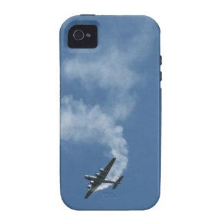 Caso duro plano del iPhone 4 4S de la vuelta B-29 iPhone 4/4S Carcasas