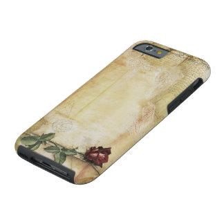 Caso duro subió letra del iPhone 6 de da Vinci Funda Resistente iPhone 6