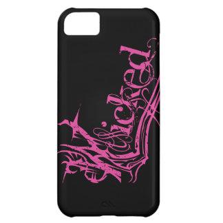 Caso duro travieso del rosa iPhone5