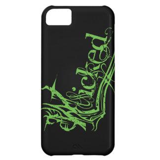 Caso duro travieso del verde iPhone5