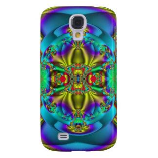 Caso duro vivo abstracto fresco de HTC que burbuje Funda Para Galaxy S4