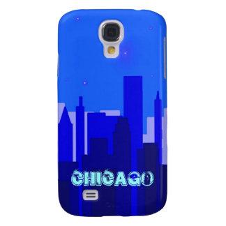 Caso duro vivo de Chicago HTC Funda Para Galaxy S4