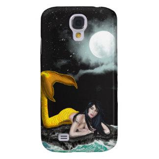 Caso duro vivo de HTC de la sirena de la marea de  Funda Para Galaxy S4
