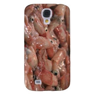 Caso duro vivo de HTC del calamar Funda Para Galaxy S4