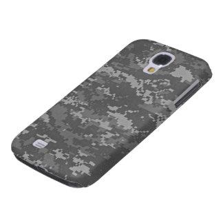 Caso duro vivo de HTC del camuflaje del ACU Digita Funda Para Galaxy S4