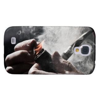 Caso duro vivo de HTC del tubo que fuma
