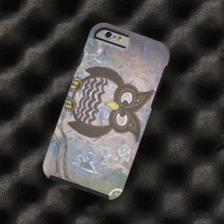 "caso duro ""Whisperer del iphone 6 del búho "" Funda Para iPhone 6 Tough"