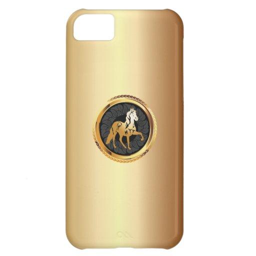 Caso ecuestre del iPhone 5 del caballo elegante de