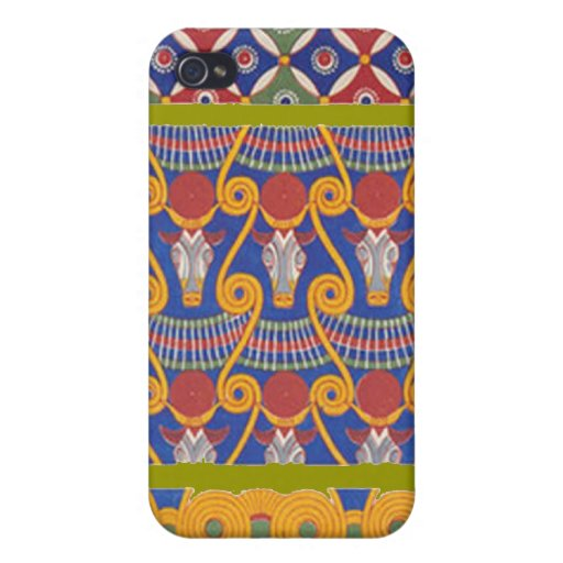 CASO EGIPCIO de IPhone 4 del DISEÑO del ADORNO iPhone 4/4S Fundas