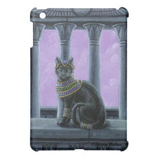 Caso egipcio del iPad del gato del templo