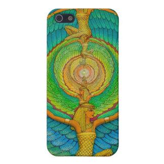 Caso egipcio del iPhone 4 del arte de la fantasía  iPhone 5 Funda