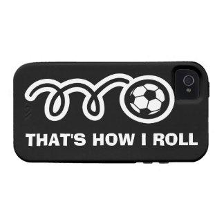 Caso el | del iPhone 4 del balón de fútbol que es iPhone 4/4S Carcasa