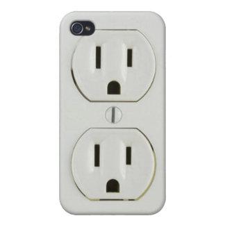 Caso eléctrico del iPhone 4 del mercado iPhone 4 Carcasa