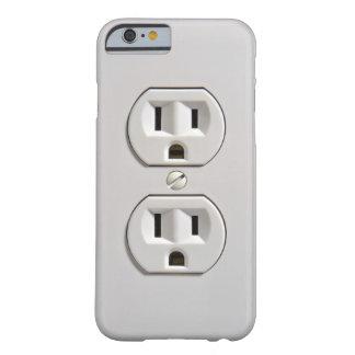 Caso eléctrico del iPhone 6 del mercado Funda Barely There iPhone 6
