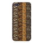 Caso elegante de Iphone 4 de la mirada de la piel  iPhone 5 Cárcasa