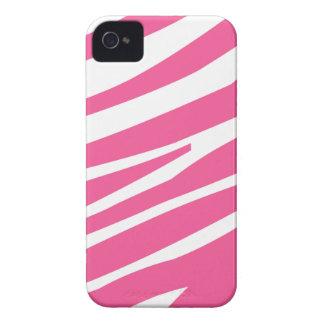 Caso elegante del iphone 4 de la cebra de la diver iPhone 4 Case-Mate fundas