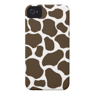 Caso elegante del iphone 4 de la jirafa de la Case-Mate iPhone 4 carcasa