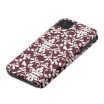 Caso elegante del iphone 4 del modelo del damasco  iPhone 4 Case-Mate protectores