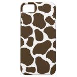 Caso elegante del iphone 5 de la jirafa de la dive iPhone 5 protectores