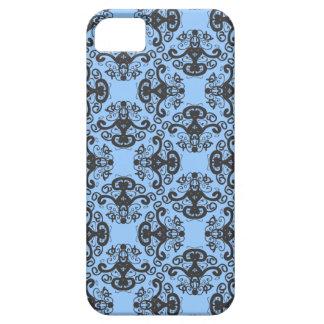 Caso elegante del iPhone 5 del modelo del damasco iPhone 5 Case-Mate Protector