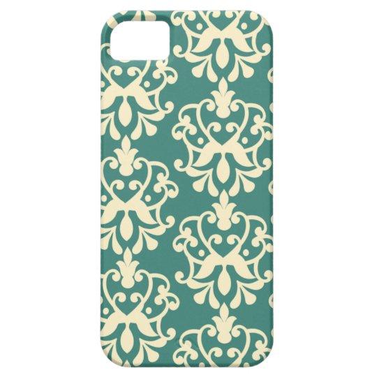 Caso elegante del iphone 5 del modelo poner crema funda para iPhone SE/5/5s