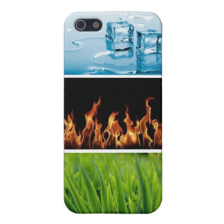 caso elemental iPhone 5 funda
