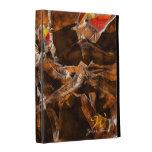Caso en folio del iPad radical del arte 1
