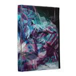 Caso en folio del iPad radical del arte 19