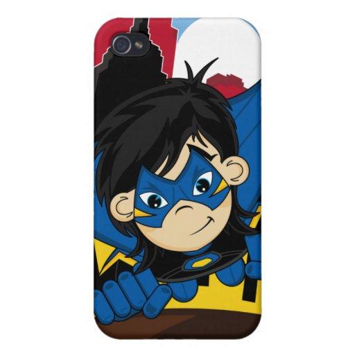 Caso enmascarado del iphone 4 del super héroe iPhone 4 fundas