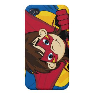 Caso enmascarado del iphone 4 del super héroe iPhone 4 protector