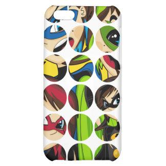 Caso enmascarado del iphone 4 del super héroe
