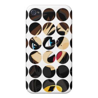 Caso enmascarado del iphone 4 del super héroe iPhone 4/4S funda