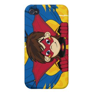 Caso enmascarado del iphone 4 del super héroe iPhone 4/4S carcasas
