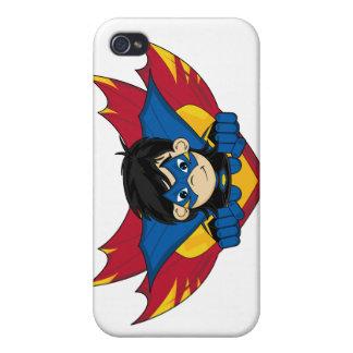 Caso enmascarado del iphone 4 del super héroe iPhone 4/4S fundas