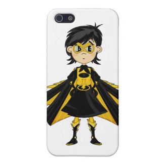 Caso enmascarado del iphone 4 del super héroe iPhone 5 cárcasa