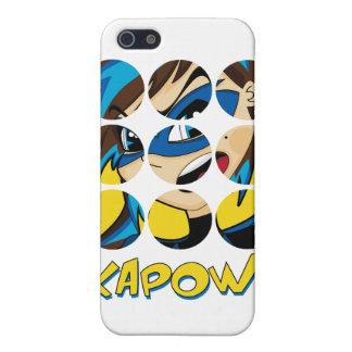 Caso enmascarado del iphone 4 del super héroe iPhone 5 carcasa