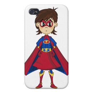 Caso enmascarado del iphone 4 del super héroe iPhone 4/4S carcasa